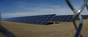 Solar Panel Blue Skies