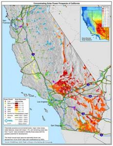 California Solar Map
