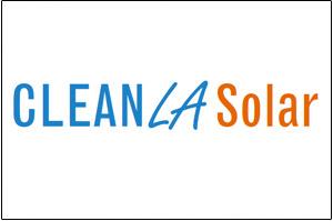 Clean LA Solar Logo