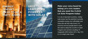 Clean LA Solar Program Today