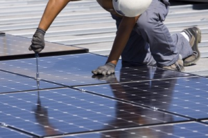 Solar Panel Roof Installation
