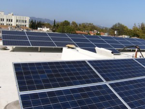 Apartment building solar