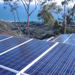 Malibu rooftop solar panels