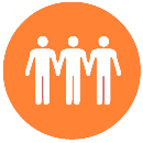 Orange Socially Beneficial Logo