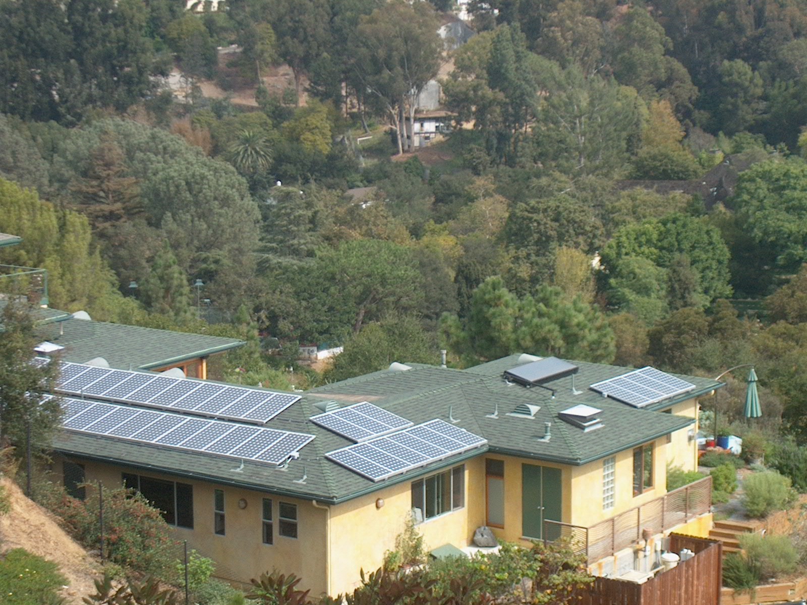 brentwood home solar panel installation