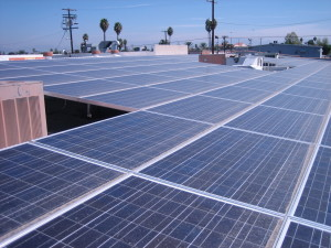 Solar Panels On Reseda Medical Plaza