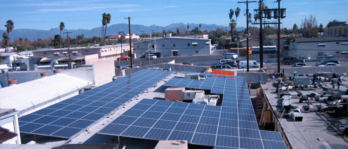 Reseda Medical Plaza solar panels