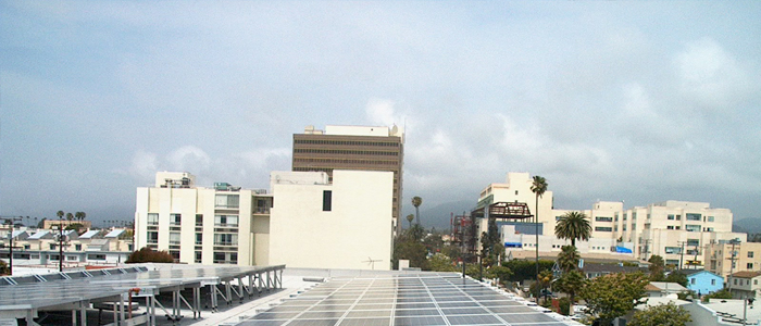 Santa Monica Apartment building solar