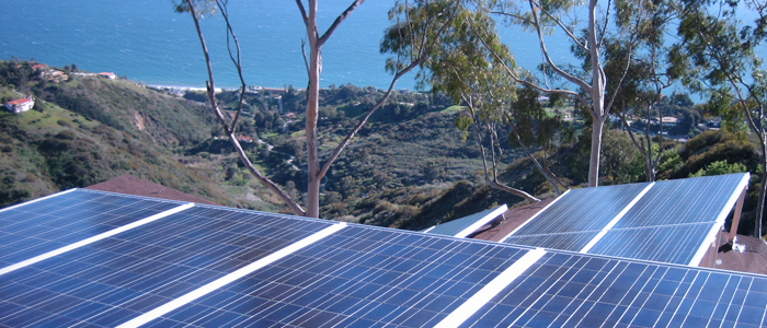 malibu hills solar panel system