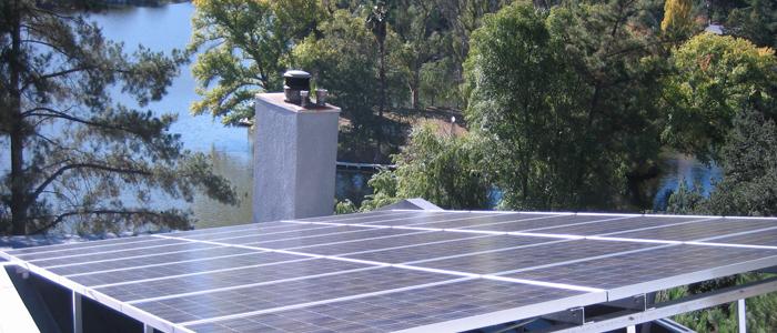 malibu lake solar panel system