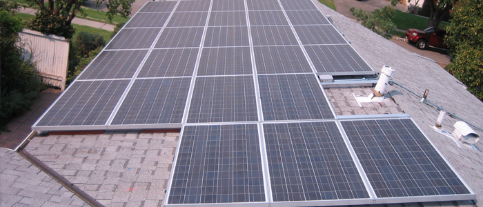 northridge solar panel system