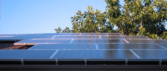 silver lake solar panel